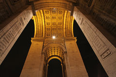 Arch de Truimph, Paris Royalty Free Stock Photography