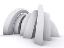 Arch design Stock Image