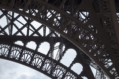 Arch Detail On Eiffel Tower Royalty Free Stock Photography