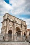 Arch Di Costantino στη Ρώμη, Ιταλία Στοκ Εικόνες