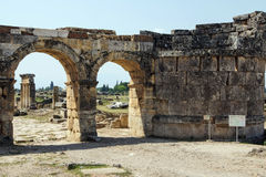 Arch of Domitian Stock Image
