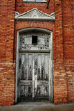 Arch Doorway. Old doorway in the side of a downtown building Royalty Free Stock Images