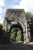 Arch of Drusus in Rome, Italy Stock Photos