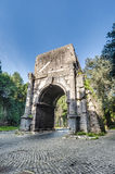 Arch of Drusus in Rome, italy Royalty Free Stock Photo