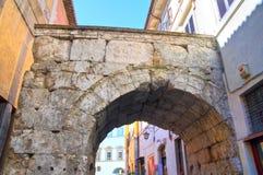 Arch of Drusus. Spoleto. Umbria. Italy. Royalty Free Stock Photo
