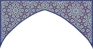 Free Arch.East Architectural Patterns Colored. Stock Photography - 158631962