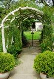 Arch entrance Royalty Free Stock Photos