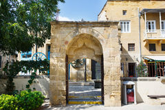 Arch entrance outside the Selimiye Mosque Royalty Free Stock Image