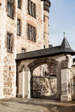 Arch entrance to the castle Stock Photography