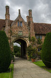 Arch Entrance to Sissinghurst Manor House. The arch into Sissinghurst Garden manor house courtyard. Kent England Stock Photography