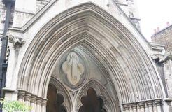 Arch entrance to St James Church Stock Photos