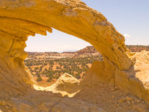 Arch at Escalante, Utah Stock Image