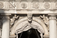 Arch and Facade of St Marks Square, Venice Stock Image