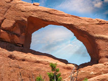 Arch Formation in Arches NP, USA Stock Images