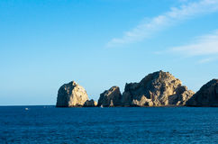 The Arch Formation Cabo San Lucas. With lovers beach Stock Photo