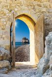 Arch in the fortress Royalty Free Stock Photo