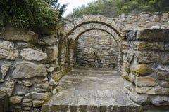 Arch in the forty martyr church garden. Veliko tarnovo, Bulgaria Royalty Free Stock Photos