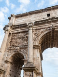 arch forum romana Zdjęcia Stock