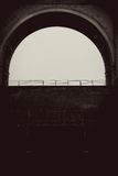 Arch frame. Royalty Free Stock Photography