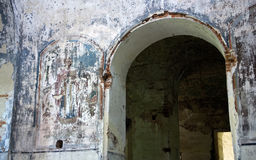 Arch and fresco Royalty Free Stock Image