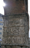 Arch of Galerius, Thessaloniki, Greece - detail Stock Image