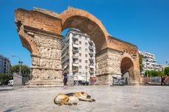 Arch of Galerius. Thessaloniki, Macedonia, Greece Stock Photo