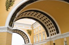 Arch of the General Staff. Stock Photo
