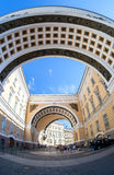Arch of the General Staff Building on Palace Square Stock Photo