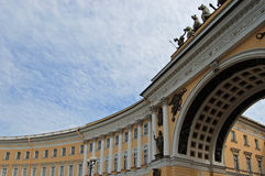 Arch of the General staff. Saint-Petersburg Royalty Free Stock Photography