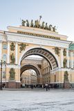Arch of the General Staff Royalty Free Stock Photography