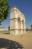 Arch of Germanicus, Saintes, France Stock Photo
