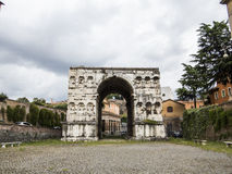 Arch of Giano, Rome Royalty Free Stock Image