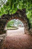 Arch in Gillette Castle State Park Royalty Free Stock Photography
