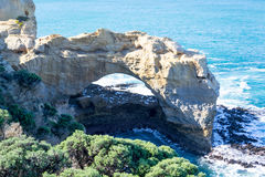 The Arch in the Great Ocean Road Stock Image