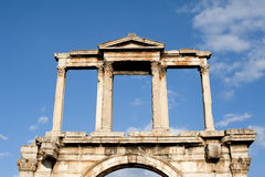 The arch of Hadrian, Athens Royalty Free Stock Images