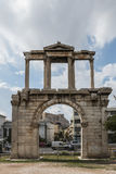 Arch of Hadrian in Athens, Greece Royalty Free Stock Photos