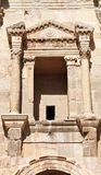 Arch of Hadrian details, Jerash - Jordan Stock Images