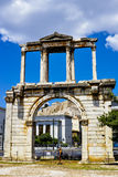 Arch of Hadrian Stock Photo