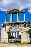 Arch of Hadrian Stock Photo