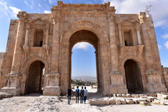 Arch of Hadrian Royalty Free Stock Photography