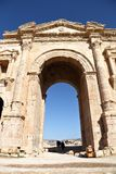 The Arch of Hadrian, Jerash - Jordan Royalty Free Stock Photography