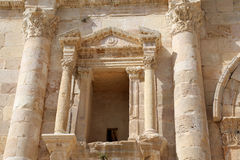 Arch of Hadrian in Jerash, Jordan Royalty Free Stock Images