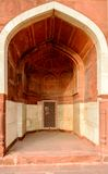 Arch at Humayun's tomb, New Delhi Royalty Free Stock Images