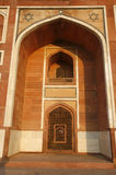 Arch at Humayun Tomb, Delhi Royalty Free Stock Photos