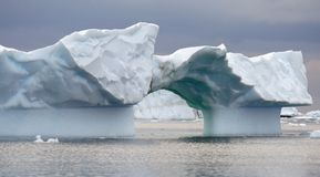 Arch iceberg Royalty Free Stock Photos