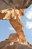 Arch In Wadi Rum Royalty Free Stock Image