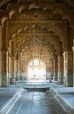 Arch in interior. India, Delhi Stock Photos