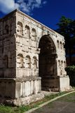 Arch of Janus in Rome Stock Photos