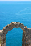 Arch at Kaliakra Cape Stock Image