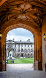 Arch of King's College Cambridge University Stock Photo